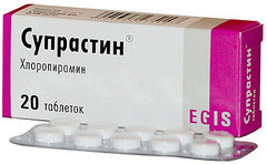 Как быстро действует супрастин в таблетках