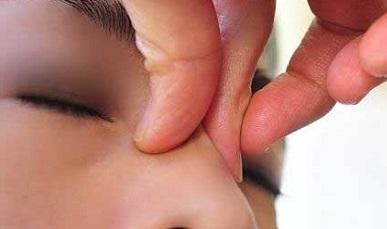 заложен нос соплей нет лечение