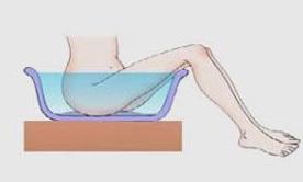 Геморрой у женщин ванночки