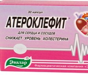 Атероклефит: инструкция по применению, цена, отзывы. Показания к применению препарата