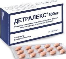 таблетки от геморроя детралекс аналоги