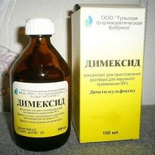 Изображение - Примочки с димексидом на сустав как разводить Dimeksid