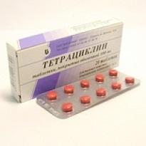 Тетрациклин в таблетках как принимать